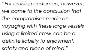 for cruising customers, however, we came to the conclusion