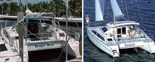 first catamaran with hardtop