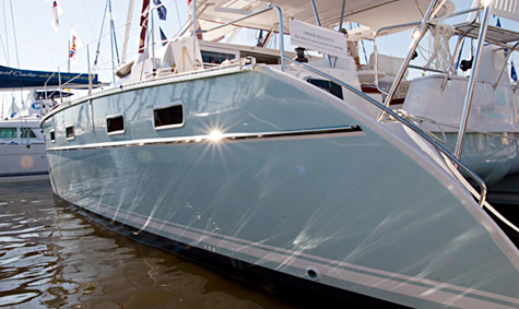 Antares 44 freeboard