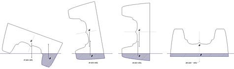 Catamaran heeling