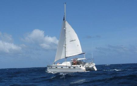 Antares sailing catamaran