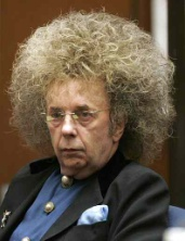 Famous yachtsman/record producer Phil Spector after successful yacht charter