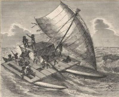 Fijian charter boat