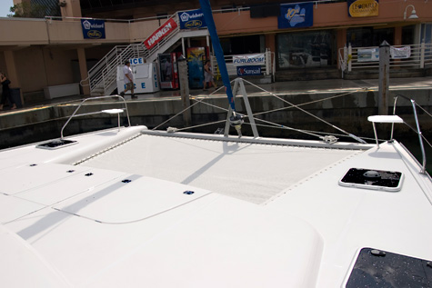 example of catamaran trampoline