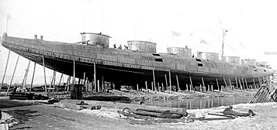The Whaleback hull