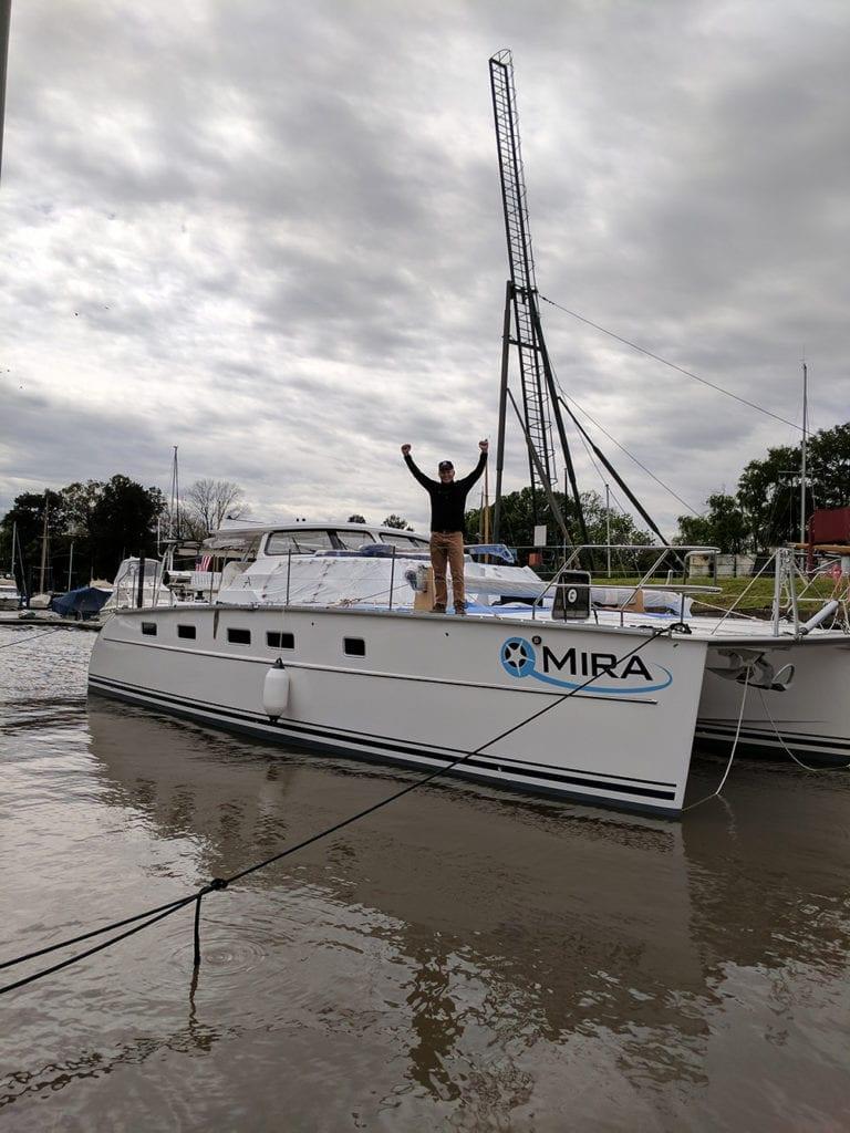 Antares Catamaran Mira 56