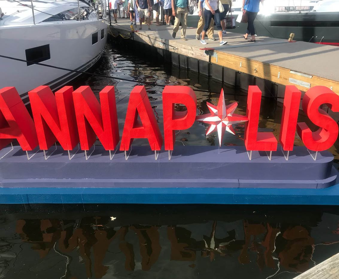 Annapolis Boat Show Sign