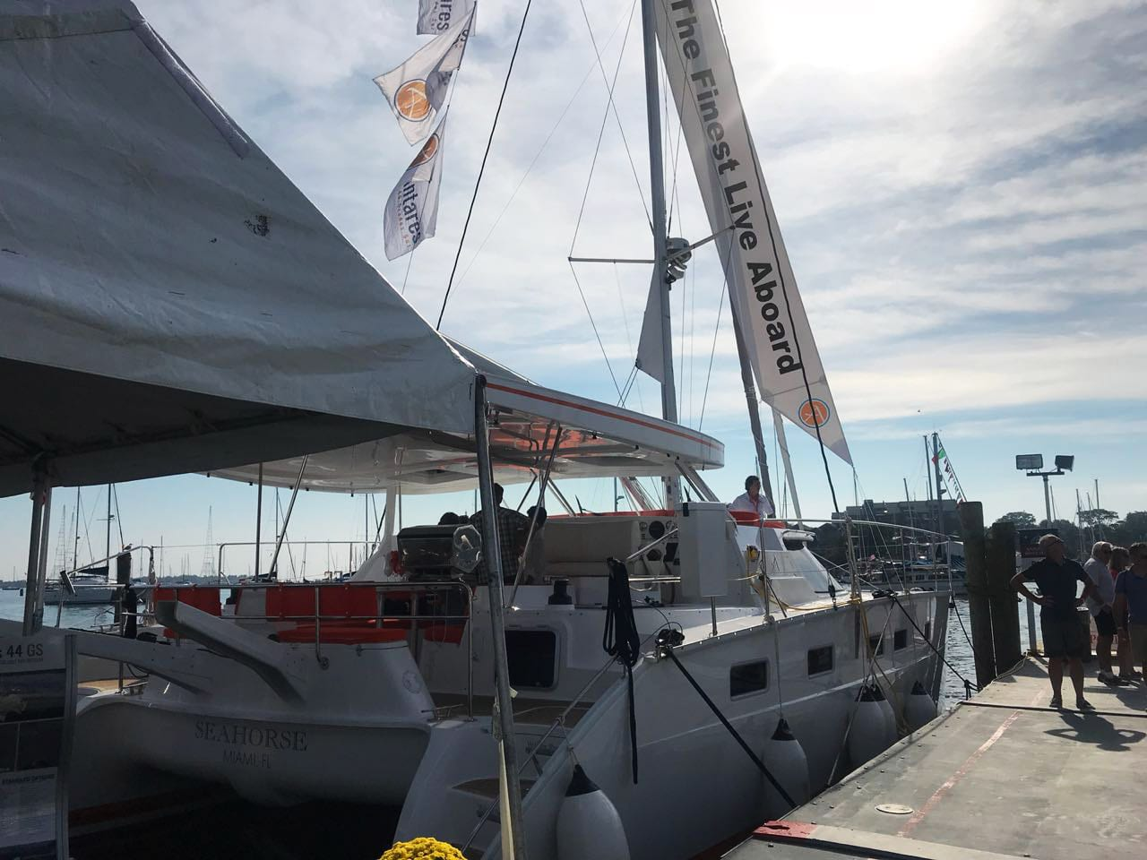 Antares 44 GS at Annapolis Boat Show 2018