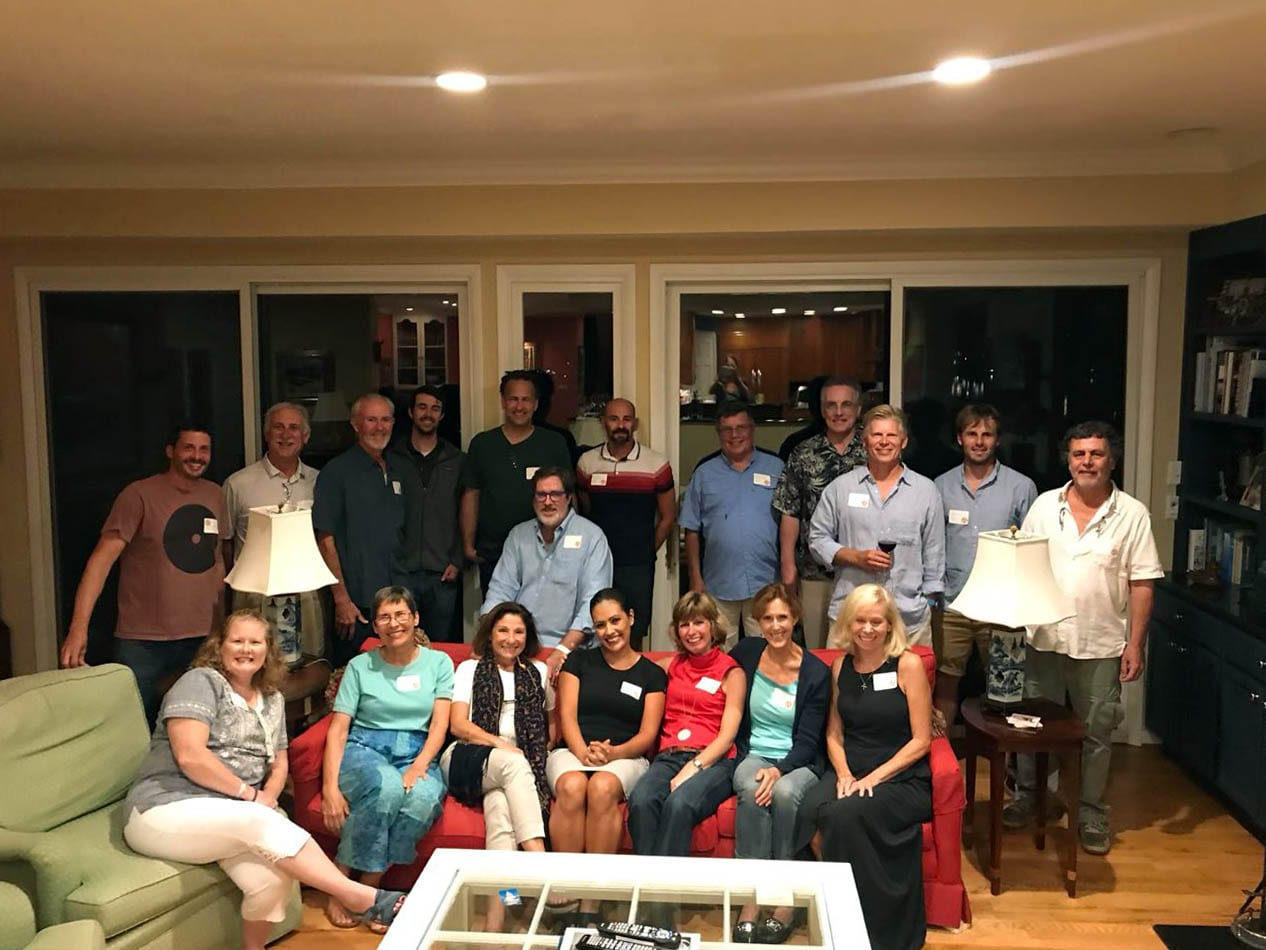 Team Antares Group Photo at Annapolis Boat Show 2018